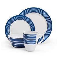Campfire 16 Piece Melamine Dinner Set - Nautical