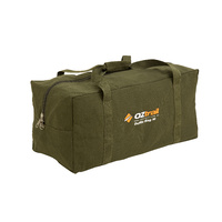 Oztrail Medium Canvas Duffle Camping Bag image
