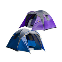 Outdoor Connection Breakaway 4V Dome Tent - Blue