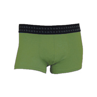 Bamboo Textiles Mens Bamboo Trunks - Olive