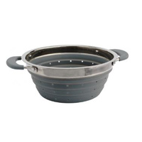 Supex Collapsible Colander Bowl Grey