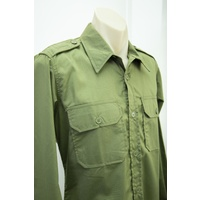 Military Green Shirt Size Large - Clearance Sale image