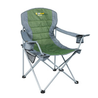Oztrail Deluxe Arm Chair Jumbo - Green