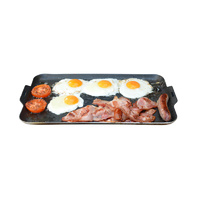 Outdoor Connection Aluminium BBQ Plate with Non-Stick Cooking Surface image