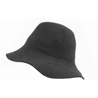 The Lazy Drifter - 100% Wool Hat Dark Grey image