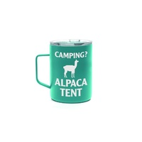 Oztrail Double Wall Stainless Mug - Alpaca Tent image
