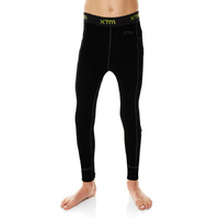 XTM Kids Merino 230gsm Thermal Pants Black image