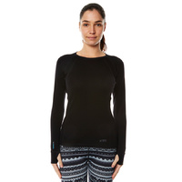 XTM Ladies Merino Thermal Top 230gsm Black [Size: 8] image