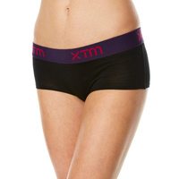 XTM Ladies Merino Thermal Boyleg Underwear Black
