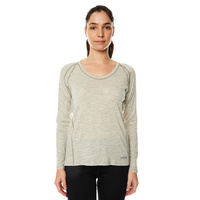 XTM Ladies [Size: 16] Lightweight 170gsm Merino Long Sleeve Top Light Grey  image