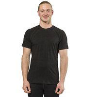 XTM Mens Lightweight Merino Thermal T-Shirt 170gsm Black