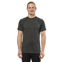 XTM Mens Lightweight Merino Thermal T-Shirt 170gsm Dark Grey