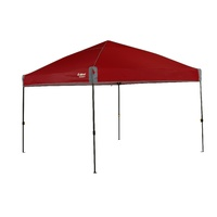 Oztrail Fiesta Compact 3.0 Gazebo [Colour: Red] image