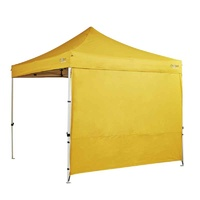 Oztrail Heavy Duty 3m Gazebo Solid Wall Kit - Yellow