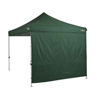 Oztrail Heavy Duty 3m Gazebo Solid Wall Kit - Green image
