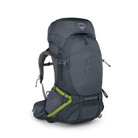 Osprey Atmos AG 65 Mens Hiking Backpack Abyss Grey