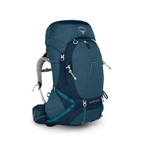 Osprey Aura AG 65 Womens Hiking Pack Challenger Blue
