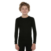 XTM Kids [Size: 10] Polypro Thermal Top Black image