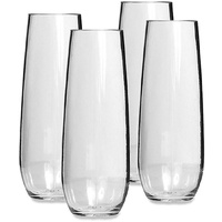 Primus Tritan Unbreakable Stemless Champagne Flute - 4 Pack image