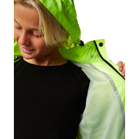 XTM Kids Stash Jacket Rainwear Hi-Vis [Size: 6] image